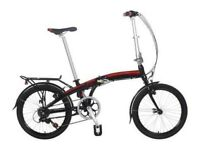Claud Butler Nimbus lightweight folding bike