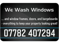 We Wash Windows - windows, window frames, window sills, doors & door frames are included as standard