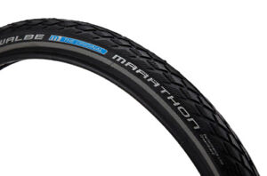 Used pair of SCHWALBE MARATHON tires for BROMPTON bikes