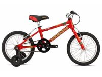 "(3091) 16"" Lightweight Aluminium PINNACLE SIXTEEN KIDS MOUNTAIN BIKE BICYCLE Age: 5-7, 105-120 cm"