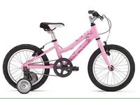 Wanted - Girls bike to suit age 5+ / 16""