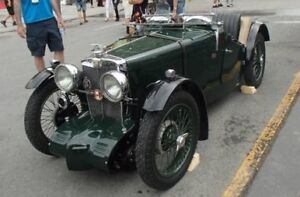 1932 MG J2 - concours condition