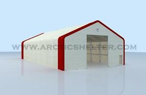 Arctic Shelter™ - Pioneer Series Double Truss 30'L x 20'W x16'H'