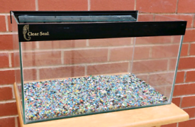 Small 28litre tank with gravel