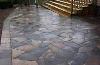 Wet Lay Flagstone Help needed - Cash Paid