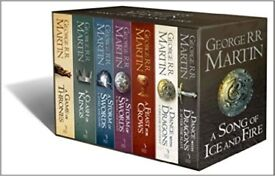 Game of thrones 7 book collection