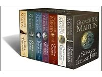 A Song Of Ice And Fire - Game Of Thrones - 7 Book Box Set- Unopened