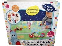 New in box in the night garden deluxe playset with mat