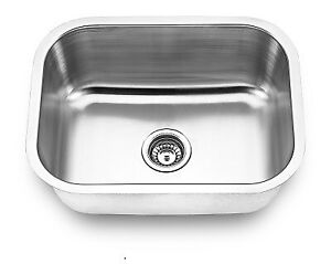 "Stainless steel u/m laundry sink 23""x 18"" from $89!!"