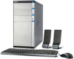 Acer Desktop, I7, 8GB RAM, 1.5TB HDD