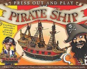 Press Out & Build Gift Box - Pirates,Kate Thompson,Good Book mon0000087418