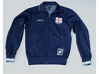 Adidas jacket - England written on the back + England flag on - size L but fits M as well
