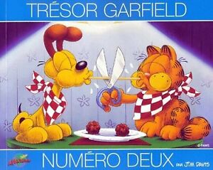 GARFIELD CARTOON BOOKS IN FRENCH AND ENGLISH
