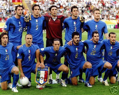 - Italy - 2006 World Cup Champions, 8x10 Team Color Photo