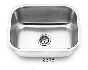 """Stainless steel u/m laundry sink 23""""x 18"""" from $89!!"""