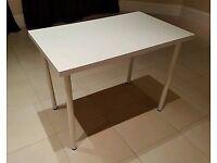 FREE White Ikea Desk with White Legs