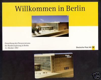 "PortoCard P-1997-27 Werbemarkenheft im Folder ""Berlin"""