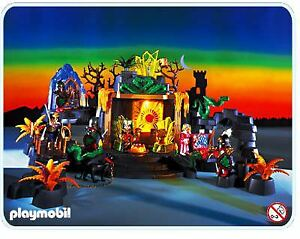 Playmobil Temple du Dragon / Medieval Dragon Temple & Castle