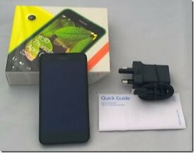Nokia Lumia 630 Black -New & Boxed (Seal Broken on Box )