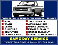 Junk Removals and Moving / Delivery Services