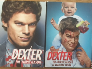 Used DEXTER seasons 3 & 4 on DVD