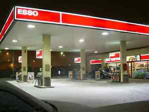 ESSO GAS STATION WITH C-STORE PIZZA PIZZA  FOR SALE