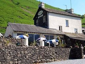 Full Time Bar Staff Required Lake District (Live-in Available)