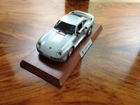 Diecast 1/18th Scale Porsche 959 Very Collectable and Le Mans Martini Posters