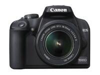 Canon EOS 1000D Digital SLR Camera (incl EF-S 18-55mm IS f/3.5-5.6 non USM Lens Kit)
