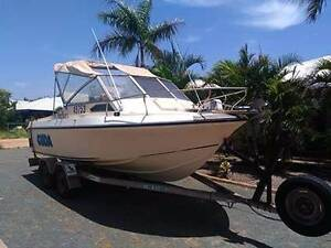 6 metre Half cabin boat Karratha Roebourne Area Preview