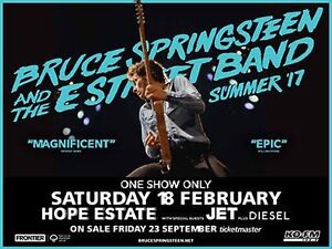 Bruce Springsteen Hope Estate Gillieston Heights Maitland Area Preview