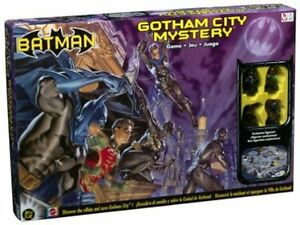NEW Batman Gotham City Mystery Game