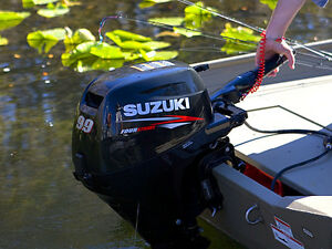Super quiet, very lightly used outboard 4 stroke- priced to sell