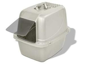 Brand New! Large Enclosed Odour Control Cat Litter Pan in Beige
