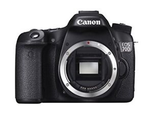 --Canon 70D for SALE $750 (BODY)--