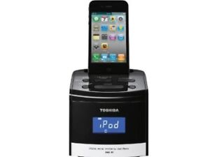 New Toshiba DMS-R1 30pin iPhone iPod Digital Music System Dock