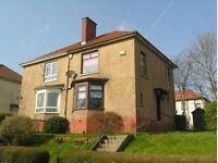 2 BEDROOM SEMI-DETACHED HOUSE TO LET ON DRUMBOTTIE ROAD, SPRINGBURN, GLASGOW