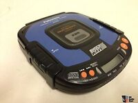 Panasonic Shockwave Portable CD Player with Storage case