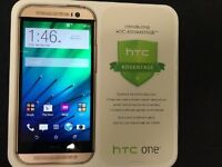 Gold HTC One M8 Unlocked To All Carriers