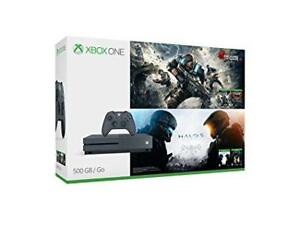 Xbox one S Halo & Gears of war bundle