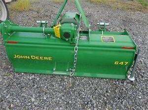 John Deere 647, 48-inch, commercial-duty tiller (like new)