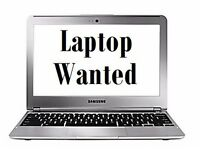 Laptop needed urgently. £100 budget. must be working text, whatsapp, email what you got. can collect