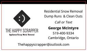 Appliance/E-waste/Scrap Metal Removal