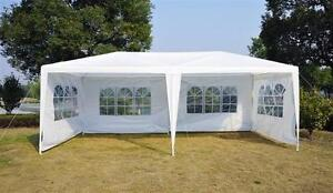 White Party tent / 10' x 20' Party tents with walls / Wedding Tent / camping tent / Outdoor Tent