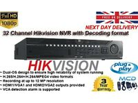 Hikvision NVR Digital HD 1080p 32 Channel