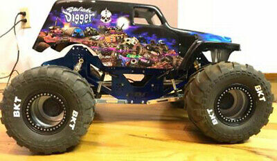 CPE Axial Wraith SMT10 Barbarian 2k18 Aluminum Race Chassis