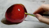 LEARN TO PAINT ~ ACRYLICS FOR ABSOLUTE BEGINNERS !
