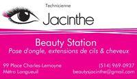 Beautystation (pose d'ongle, extensions de cils & cheveux)