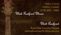 ROCK/FOLK/COUNTRY/SOUTHERN GOSPEL  Acoustic Musician