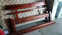 Queen Size Bed Frame  -Solid Wood Illawong Sutherland Area Preview